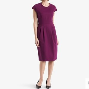 EUC MM Lafleur Purple Masha Dress